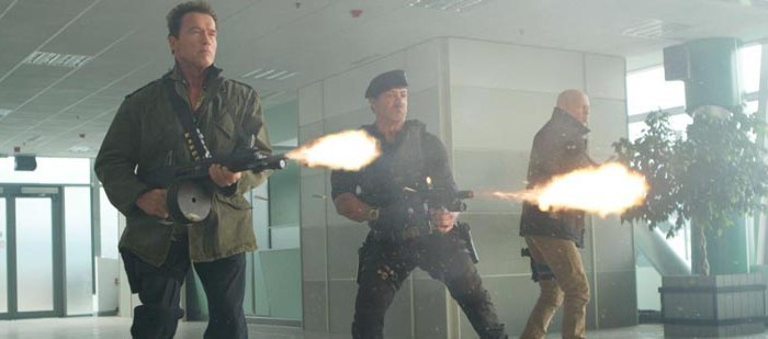 Netflix UK film review: The Expendables 2
