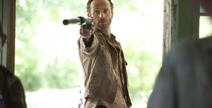 Andrew Lincoln is Rick Grimes in THE WALKING DEAD