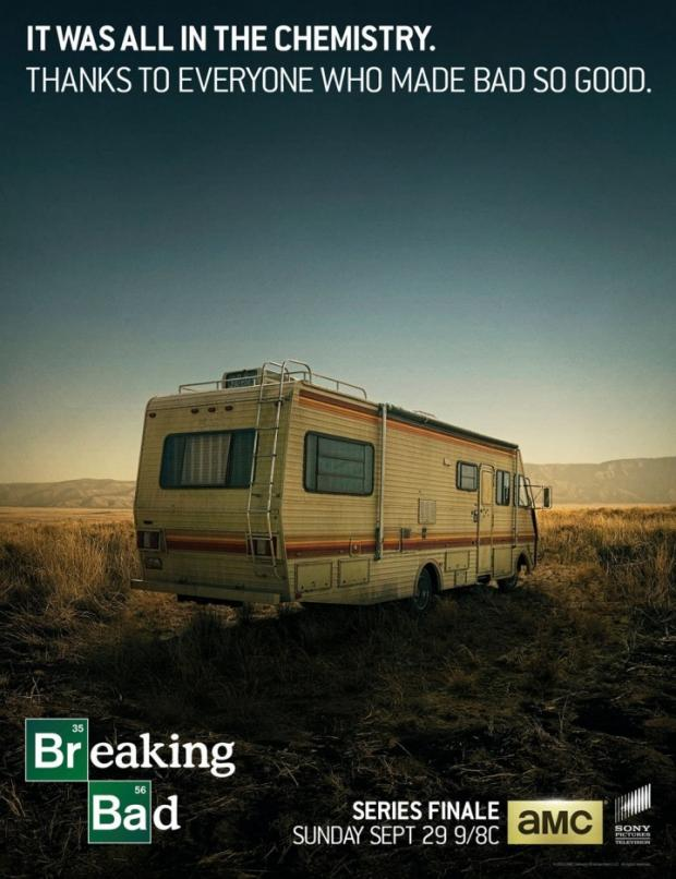 Breaking Bad final episode poster