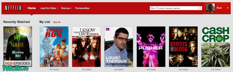 Breaking Bad Netflix UK watchlist