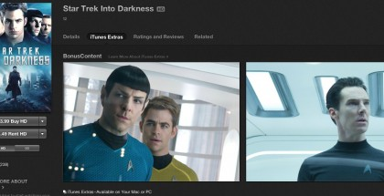 Star Trek Into Darkness iTunes Extras
