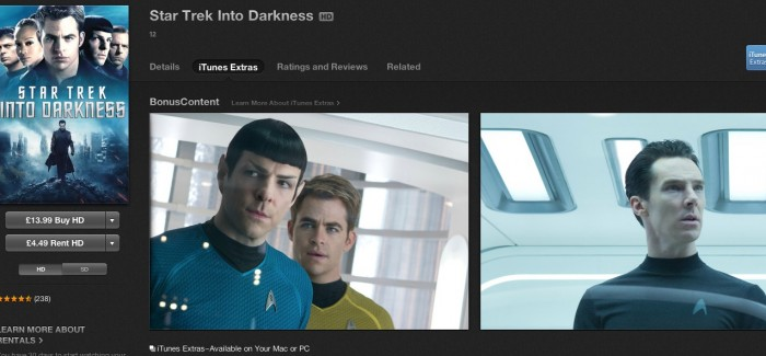 iTunes Extras: Is Star Trek Into Darkness' digital director's commentary the way forward?
