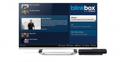blinkbox PS3 app