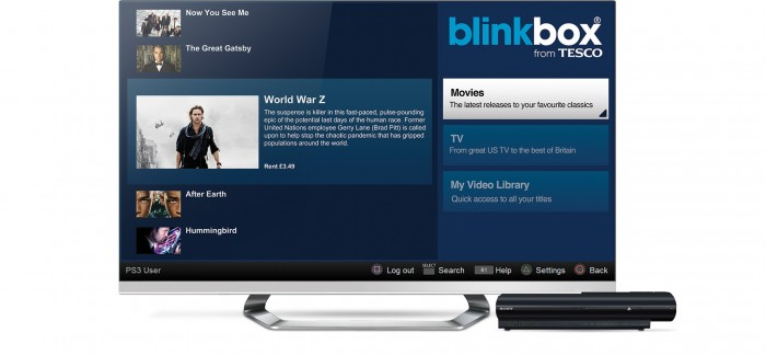 blinkbox launches PS3 app