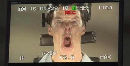 Benedict Cumberbatch Smaug face - The Hobbit - iTunes Extras