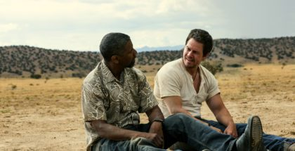 """(L to R) Academy Award® winner DENZEL WASHINGTON and MARK WAHLBERG lead an all-star cast in """"2 Guns"""", an explosive action film that tracks two operatives from competing bureaus who are forced on the run together.  But there is a big problem with their unexpected partnership: Neither knows that the other is an undercover federal agent."""