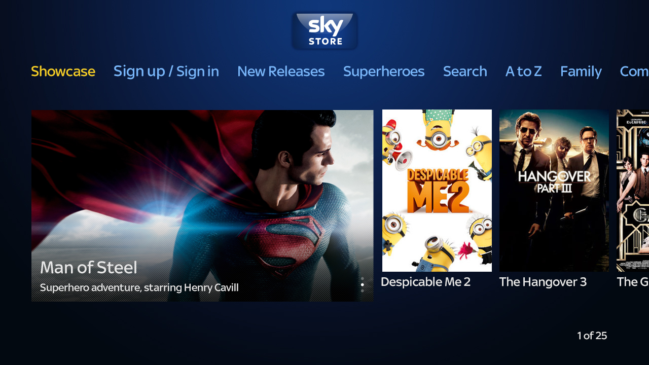 Sky Store opens up video on-demand rentals to public