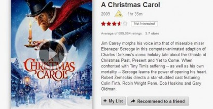 a christmas carol 2009 - netflix - film review