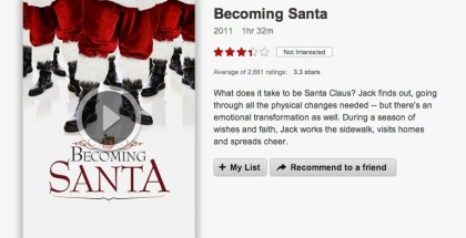Becoming Santa - Netflix Christmas movie - film review