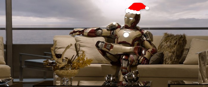 What's up with Shane Black and Christmas? (Or, A Christmas Iron Man 3 Carol)