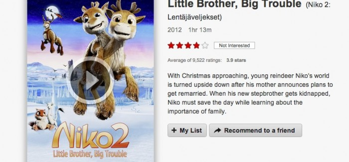 VOD film review: Niko 2: Little Brother, Big Trouble