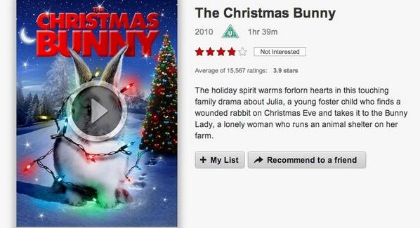 The Christmas Bunny.Vod Film Review The Christmas Bunny Vodzilla Co How To
