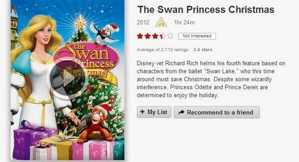 12 Days of Netflix: The Swan Princess Christmas (Day 8) | VODzilla.co
