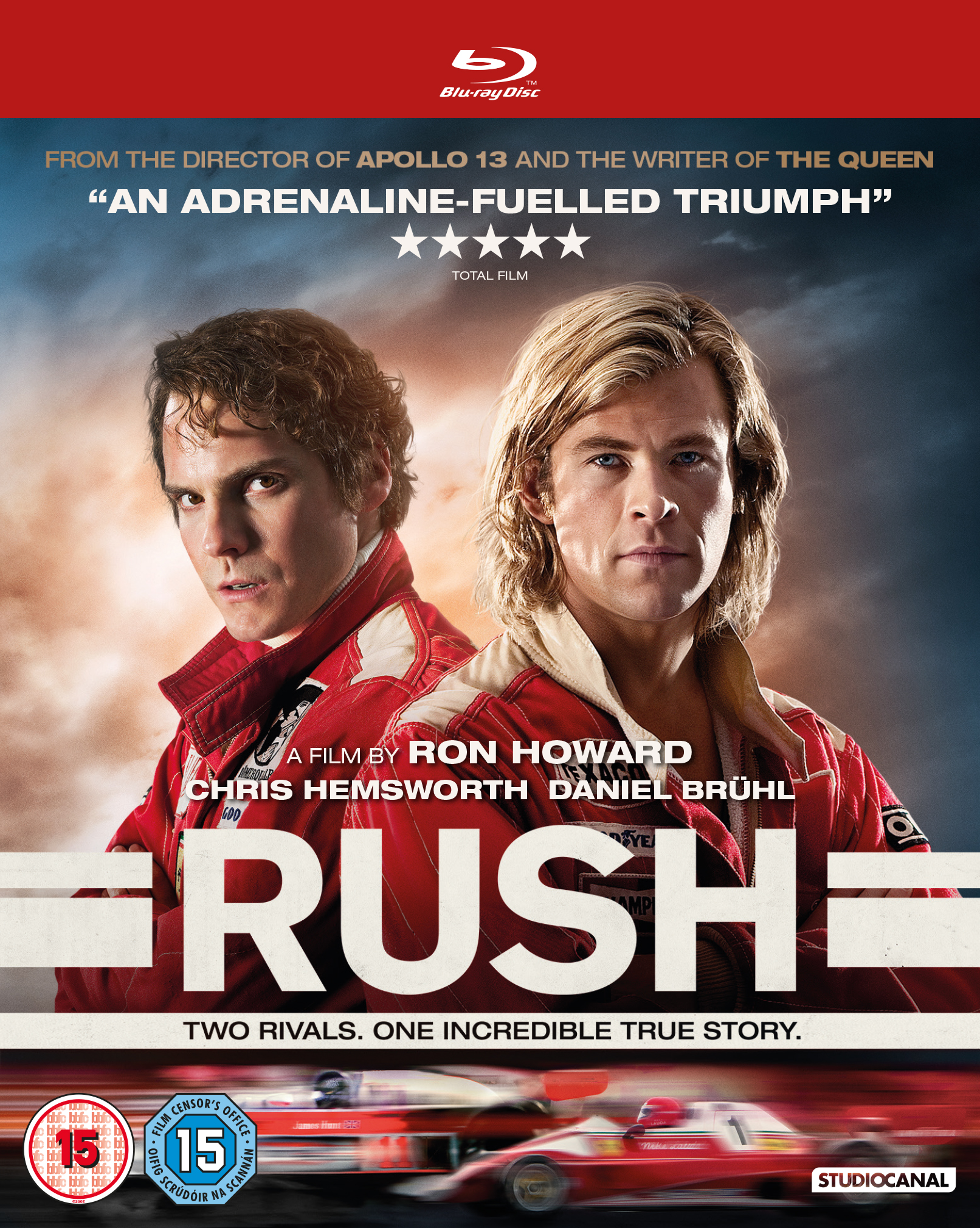 Rush Blu-ray competition