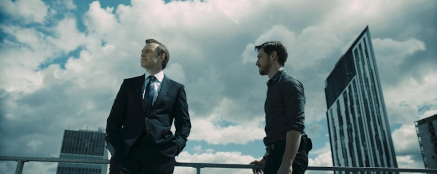 Welcome to the Punch - David Morrisey, James McAvoy