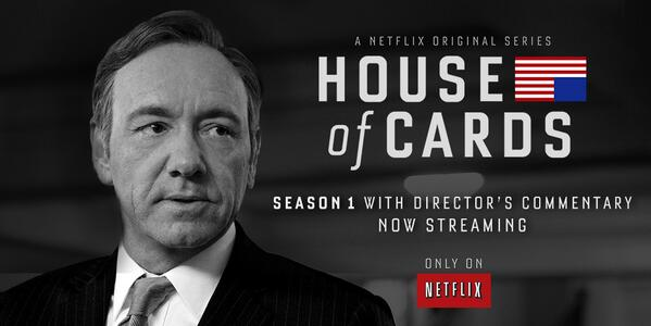 House of Cards director's commentary added exclusively to Netflix UK