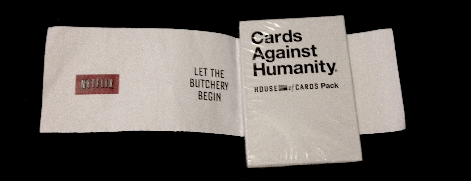 House of Cards Against Humanity competition