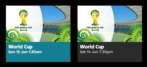 itv world cup interface