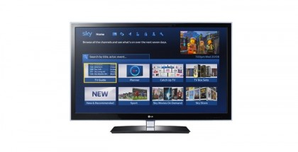 sky new tv interface