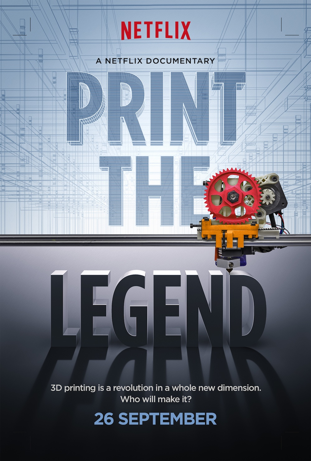 Trailer And Poster For Netflix Documentary Print The