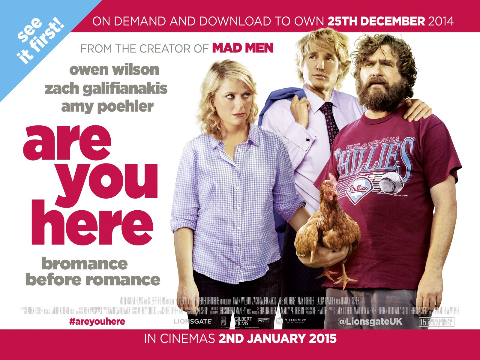 Are You Here - UK Quad poster