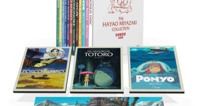 Hayao Miyazaki Blu-ray box set