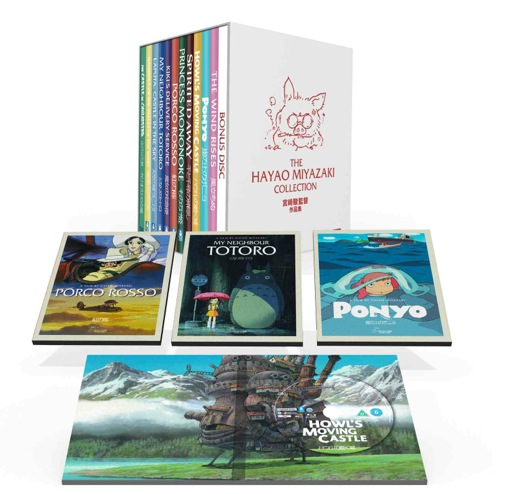 Ghibli go digital: Studio Ghibli release films on UK iTunes in run-up to Miyazaki Blu-ray box set
