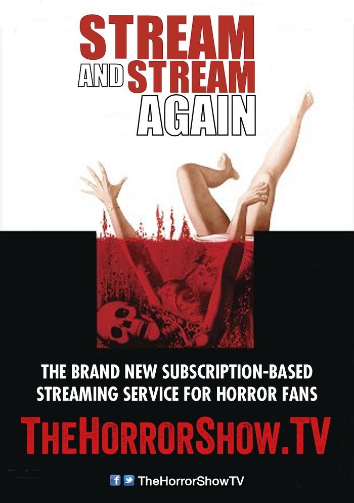 TheHorrorShow.tv horror subscription VOD