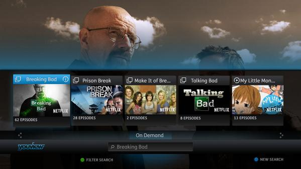 Netflix now available on YouView