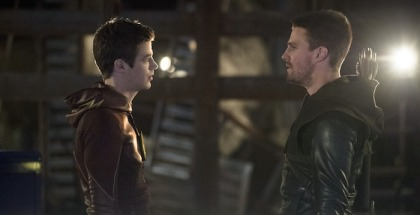 Arrow The Flash crossover