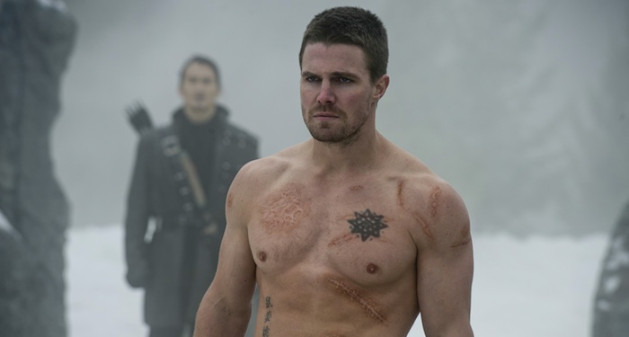 Arrow mid-season finale S3