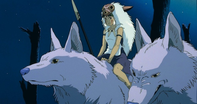 """Even if all the trees grow back, it won't be his forest anymore. The Forest Spirit is dead."" Princess Mononoke (© 1997 Nibariki - GND)"