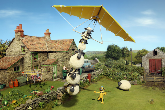 Shaun the Sheep available exclusively on Amazon Prime Video
