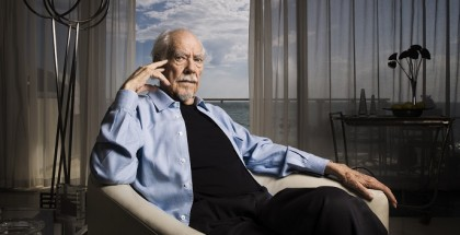 Portrait of American director Robert Altman