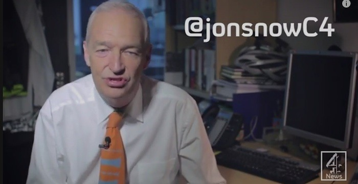 Jon Snow joins YouTube to reach young voters