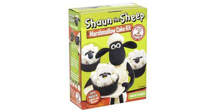 shaun the sheep cake kit