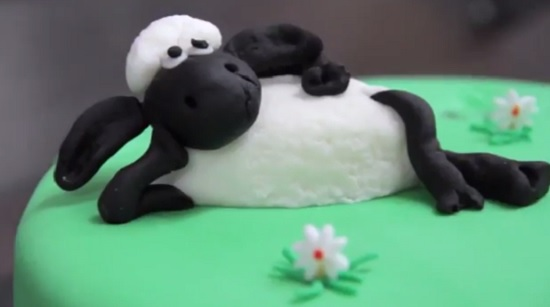 Recipe: How to make a Shaun the Sheep cake (or win your own)