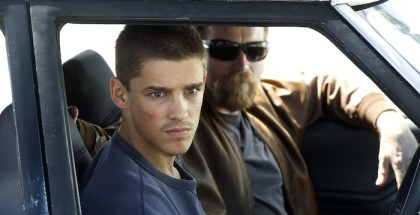 Son of a Gun - Brenton Thwaites as JR & Ewan McGregor as BRENDAN - Photograph by David Dare Parker