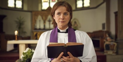 Programme Name: A Song For Jenny - TX: n/a - Episode: n/a (No. 1) - Picture Shows:  Julie Nicholson (EMILY WATSON) - (C) BBC - Photographer: Robert Viglasky