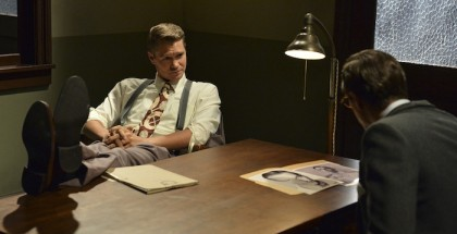 "MARVEL'S AGENT CARTER - ""Time & Tide"" - As Agent Carter closes in on Howard Stark's stolen technology, Peggy's secret mission could unravel when the SSR arrests Jarvis and a secret is revealed, on ""Marvel's Agent Carter,"" CHAD MICHAEL MURRAY"