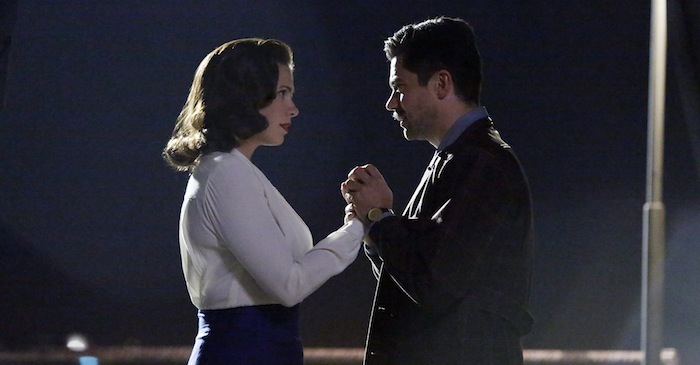 "MARVEL'S AGENT CARTER - ""Pilot"" (ABC/Kelsey McNeal) HAYLEY ATWELL, DOMINIC COOPER"