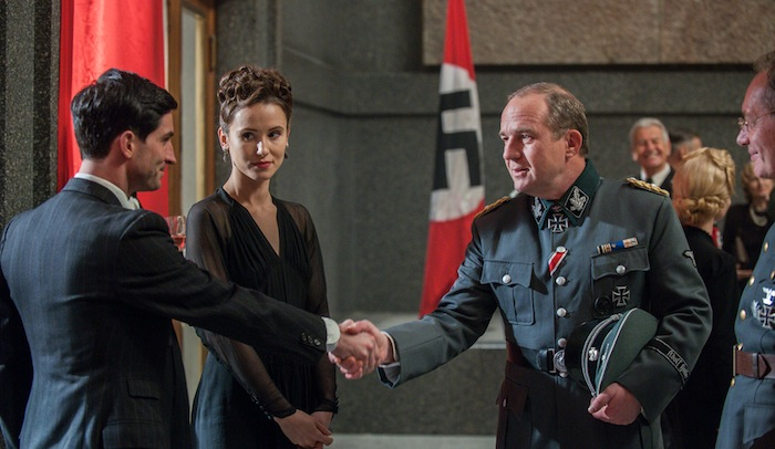 The Saboteurs: Series 1 Episode 3 - The English mission failed when both planes crash landed, and the surviving soldiers killed by the Nazis. Leif Tronstad convinces the allied to gather a local force to bomb Vemork. They are named Gunnerside.
