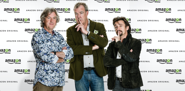 Amazon beats Netflix in race to sign Top Gear trio