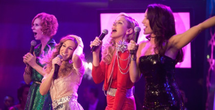 "(L-r) CYNTHIA NIXON as Miranda Hobbes, SARAH JESSICA PARKER as Carrie Bradshaw, KIM CATTRALL as Samantha Jones and KRISTIN DAVIS as Charlotte York-Goldenblatt in New Line Cinema's and Village Roadshow Pictures' romantic comedy ""Sex and the City 2,"" a Warner Bros. Pictures release. PHOTOGRAPHS TO BE USED SOLELY FOR ADVERTISING, PROMOTION, PUBLICITY OR REVIEWS OF THIS SPECIFIC MOTION PICTURE AND TO REMAIN THE PROPERTY OF THE STUDIO. NOT FOR SALE OR REDISTRIBUTION."