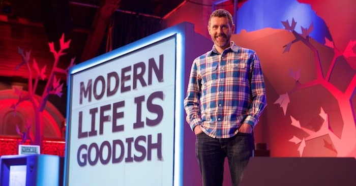 Dave Gorman: Modern Life is Goodish - Series 3 - Picture Shows: Dave Gorman