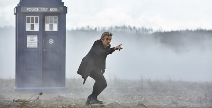 Programme Name: Doctor Who   - TX: 19/09/2015 - Episode: THE MAGICIAN'S APPRENTICE (By Steven Moffat) (No. 1) - Picture Shows:  Doctor Who (PETER CAPALDI) - (C) BBC   - Photographer: Simon Ridgway