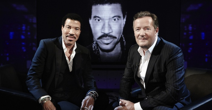 LIONEL RICHIE and PIERS MORGAN
