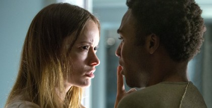"M047b  (Left to right.) Olivia Wilde and Donald Glover star in Relativity Media's ""The Lazarus Effect"".© 2013 BACK TO LIFE PRODUCTIONS, LLC Photo Credit:  Daniel McFadden"