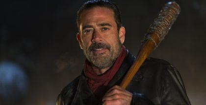 Jeffrey Dean Morgan as Negan - The Walking Dead _ Season 6, Episode 16 - Photo Credit: Gene Page/AMC .