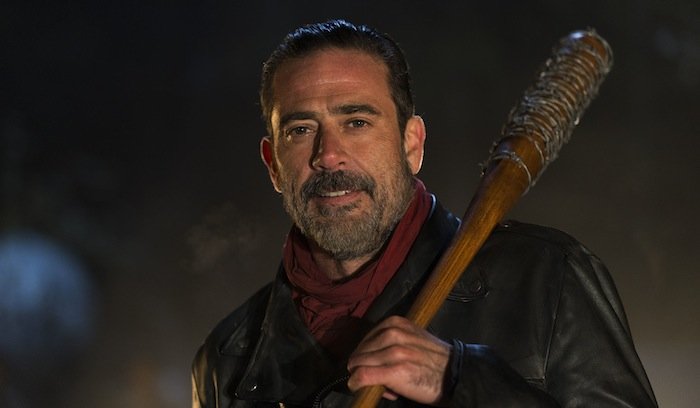 Jeffrey Dean Morgan as Negan - The Walking Dead _ Season 6, Episode 16 - Photo Credit: Gene Page/AMC .